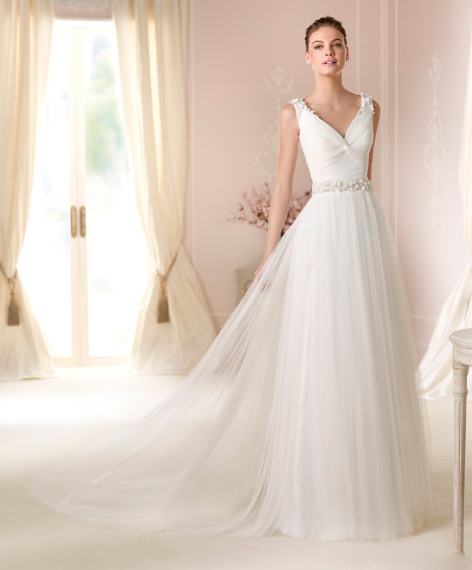 El escote de los vestidos de novia | Vestidosdenovia.com