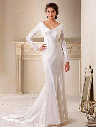 novia con el vestido de Crepúsculo diseñado por Carolina Herrera