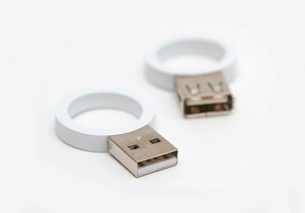 alianzas modernas en forma de USB