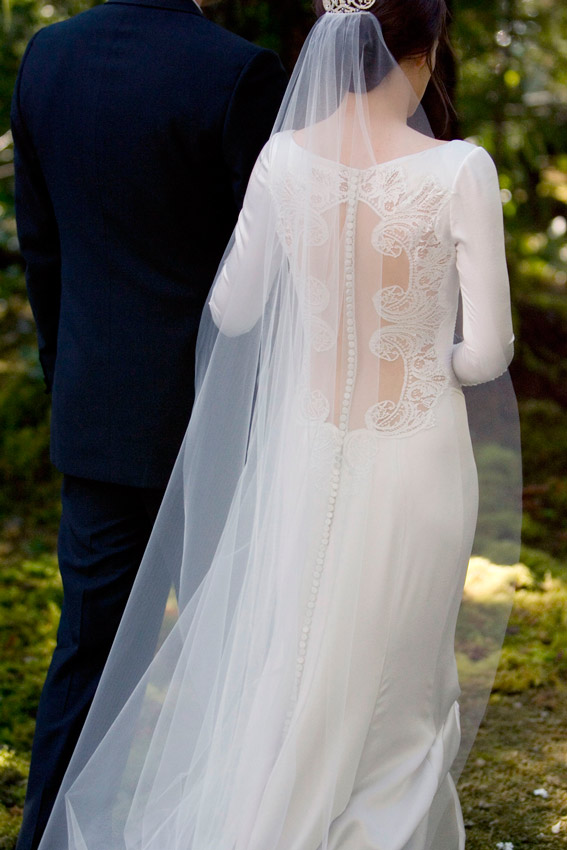 Se vende el vestido de novia de Bella Swan en Crepúsculo