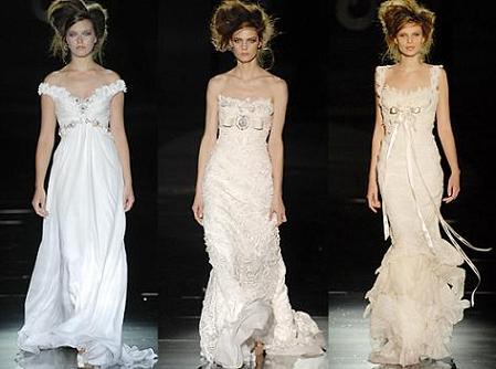 propuestas de vestidos de novia vintage de Hannibal Laguna