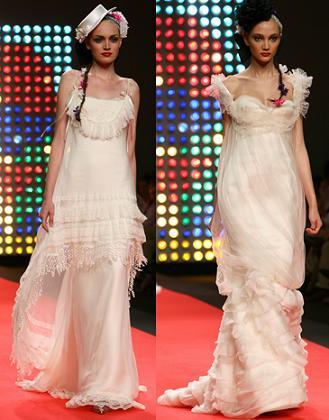 propuestas de vestidos de novia vintage de Lacroix Mariée