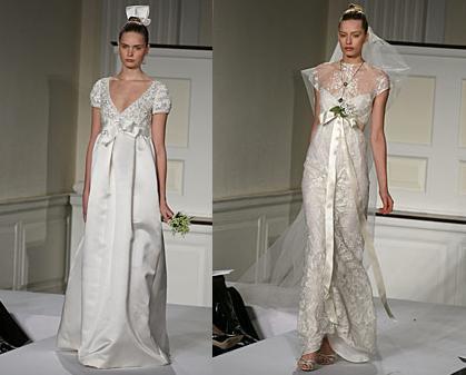 propuestas de vestidos vintage de Oscar de la Renta