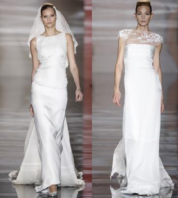 propuestas de vestidos de novia vintage de Valentino para Pronovias