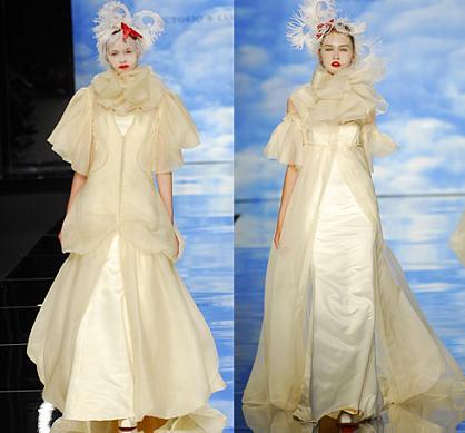 propuestas de vestidos de novia vintage de Victorio & Lucchino