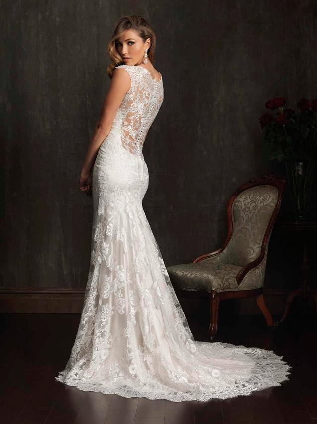 Los tejidos estrella para los vestidos de novia