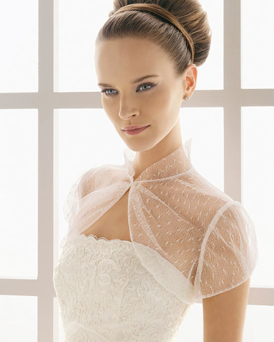 bolero para vestido de novia