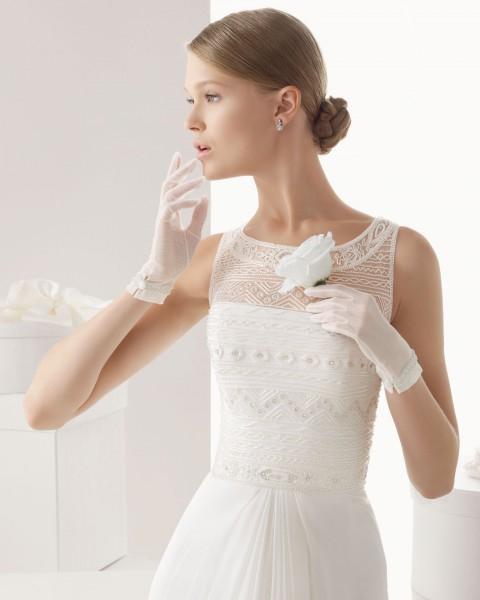 guantes para novia