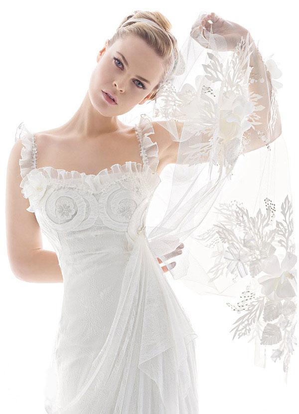 chal para vestido de novia