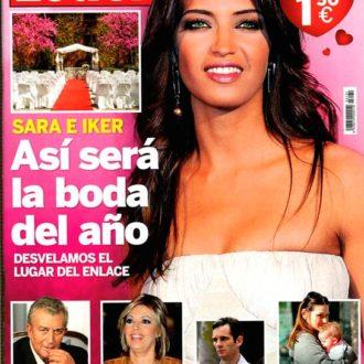Sara Carbonero en la portada de la revista Lecturas