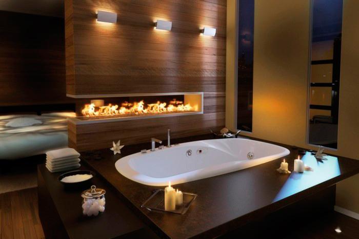 spa con bañera para tratamientos para novia