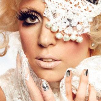 Lady Gaga en una sesión fotográfica