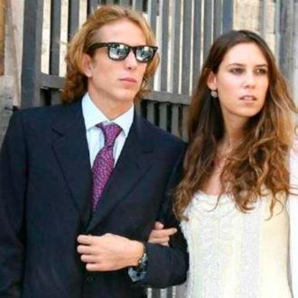 foto de pareja de Andrea Casiraghi y Tatiana Santo Domingo