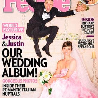 jessica biel vestido de novia rosa portada revista people