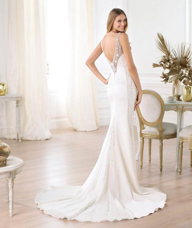vestidos de novia de espaldas escotadas | vestidosdenovia