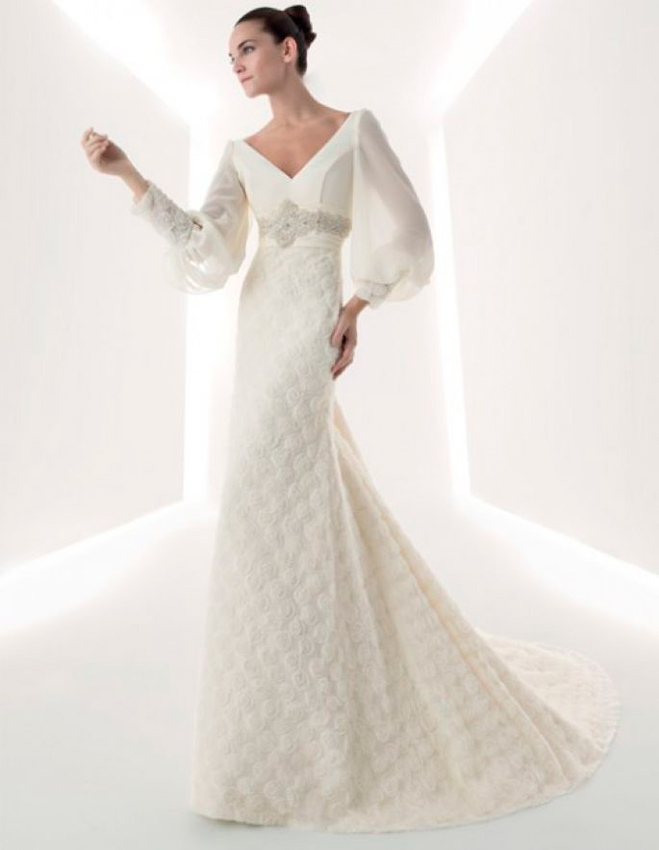 vestidos de novia con manga larga | vestidosdenovia