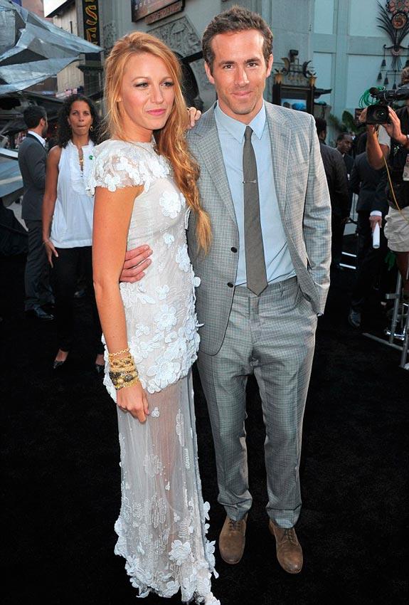 foto de pareja de Blake Lively y Ryan Reynolds
