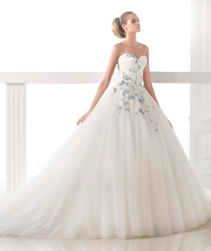 Vestidos de novia tipo hada