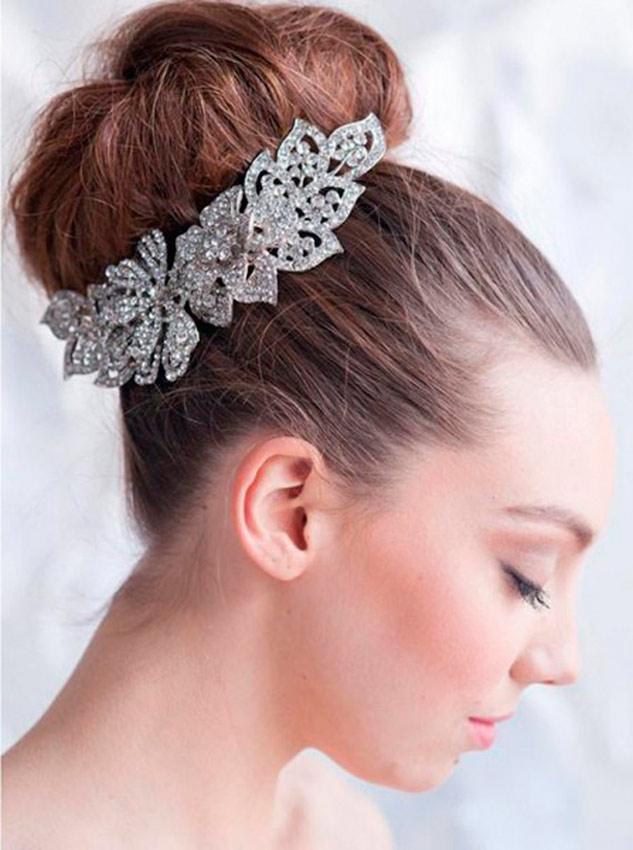 Peinados para novias en 2013 | Vestidosdenovia.com