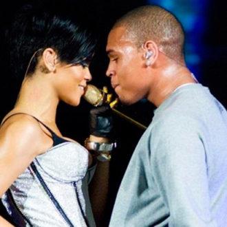 Rihanna y Chris Brown en concierto juntos
