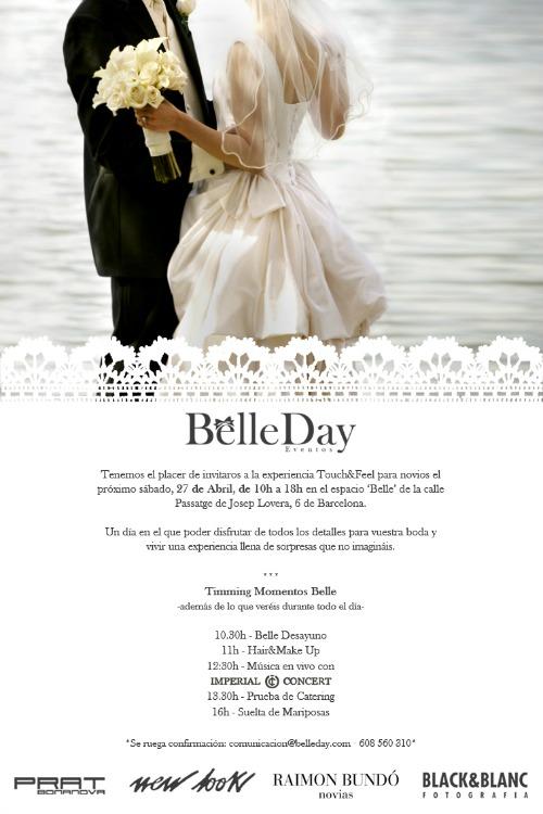 cartel promocional del evento Belle Day