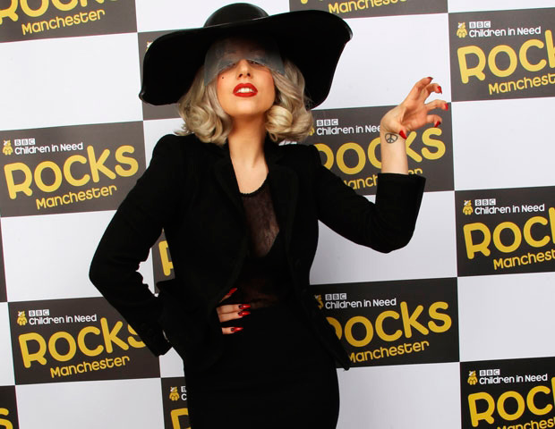 Lady Gaga en la gala benéfica Children in Need
