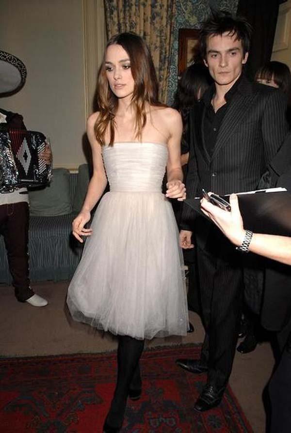 Keira Knightley reutilizando vestido para su boda