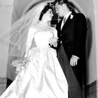 foto de boda de Liz Taylor y Conrad Hilton