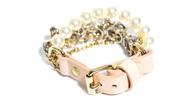 pulsera de perlas para novia de Nina Ricci