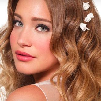 novia maquillada con tonos naturales