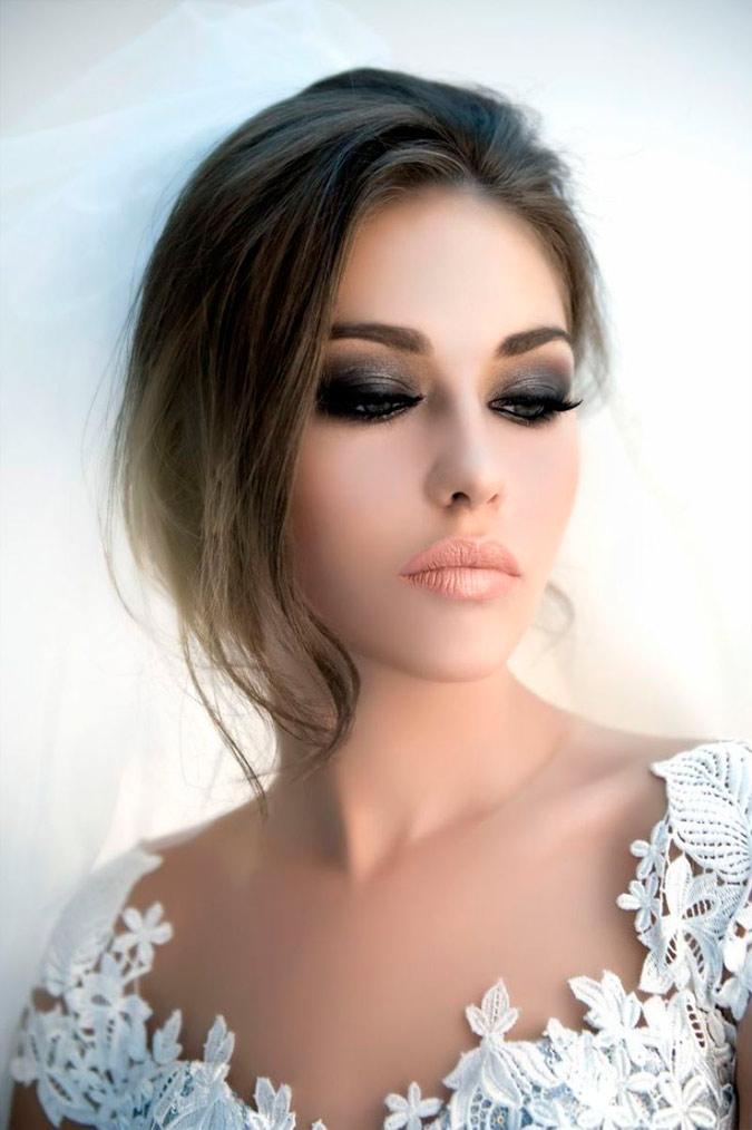 maquillaje de noche novia