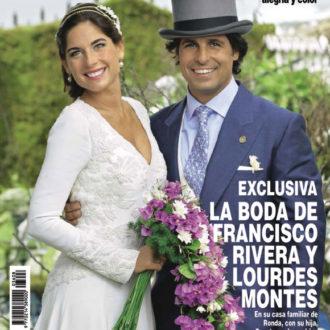 portada en la revista hola de Fran Rivera y Lourdes Montes