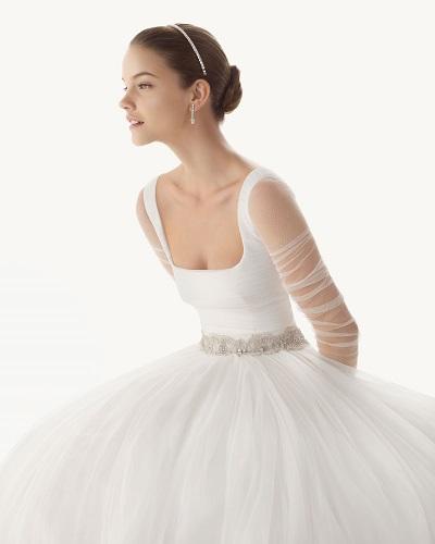 Imagenes de vestidos de novia de manga larga