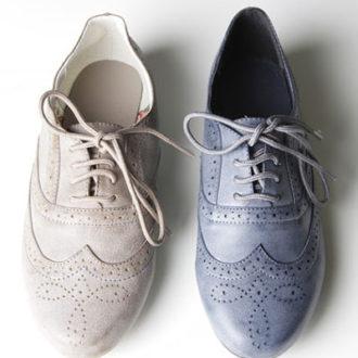 zapato plano para la boda de la novia