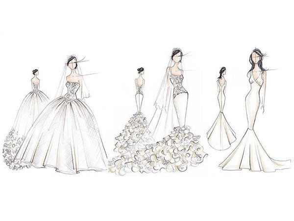 Todos Quieren Hacer El Vestido De Novia De Kim Kardashian