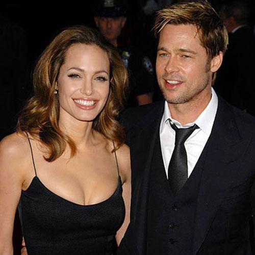 foto de pareja de Angelina Jolie y Brad Pitt