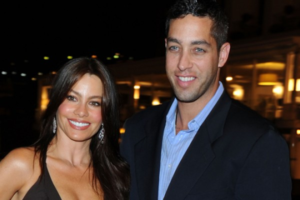 foto de pareja de Sofía Vergara y Nick Loeb