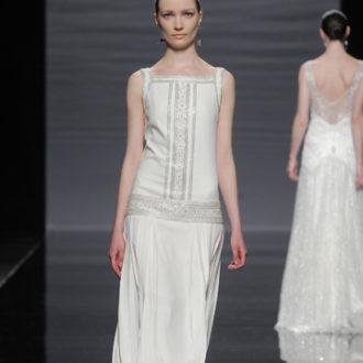vestido de novia vintage de Rosa Clará