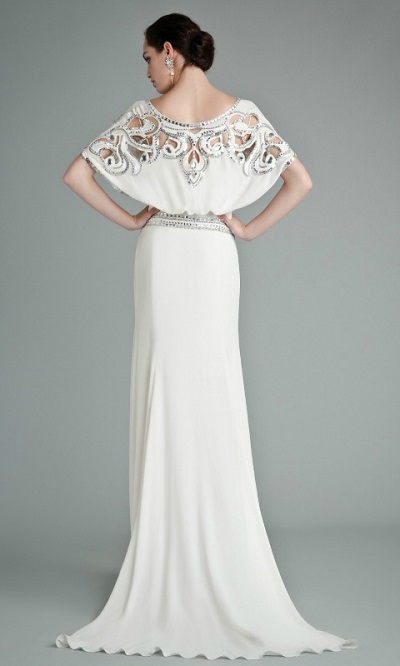 novia con vestido alternativo de Temperley London