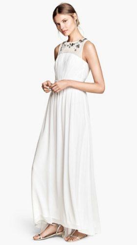 novia con vestido alternativo de H&M