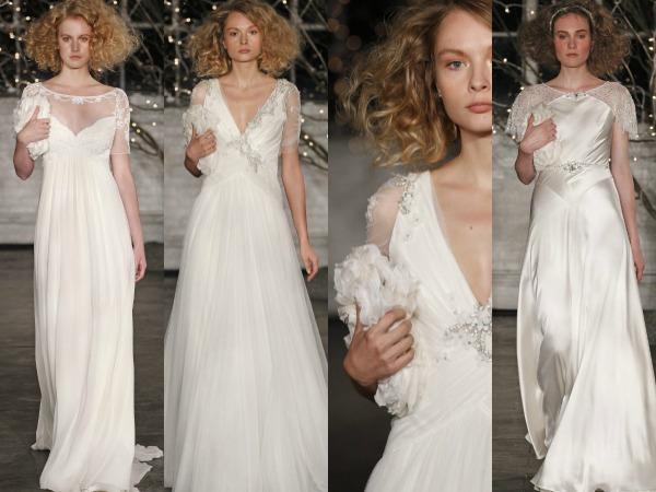 propuestas de vestidos y bolsos de Jenny Packham