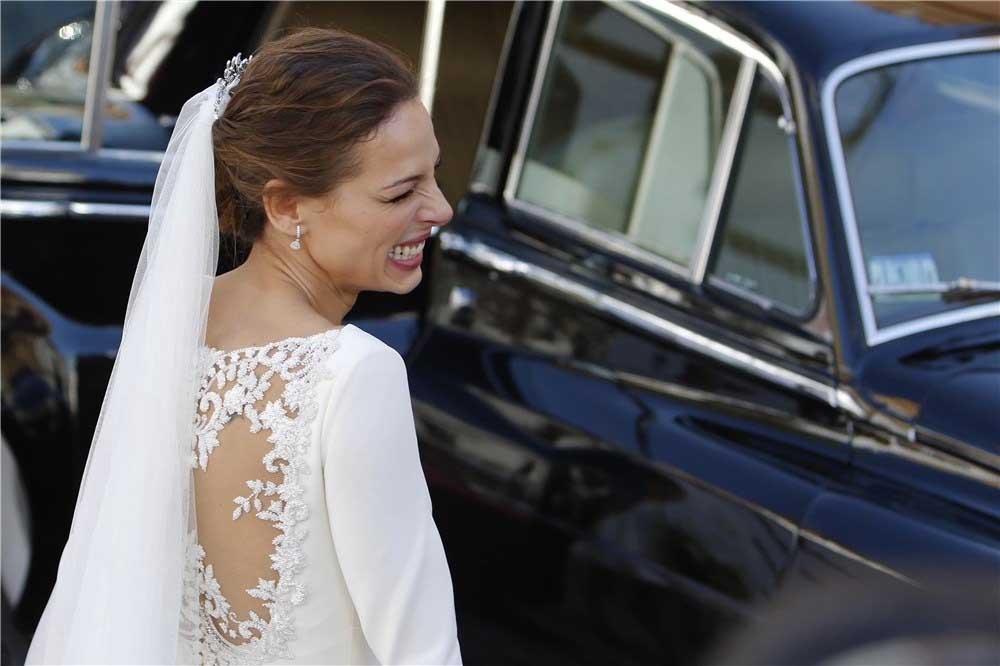 eva gonzález y su vestido de novia | vestidosdenovia
