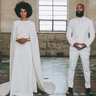 foto de pareja de Solange Knowles y Alan Ferguson