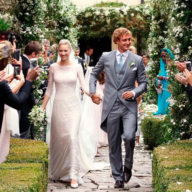 foto de la boda de Pierre y Beatrice Borromeo