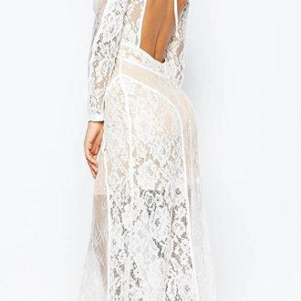 vestido de novia de la colección de Asos