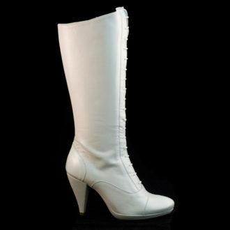 bota de caña alta victoriana para novias