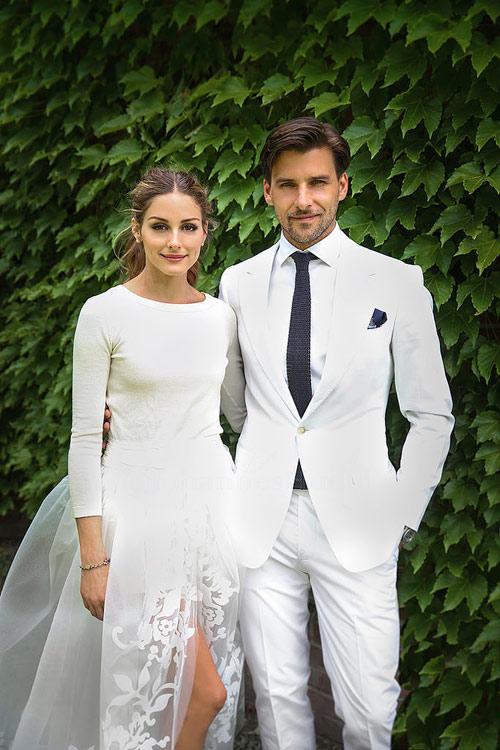 foto de la boda de Olivia Palermo y Johannes Huebl