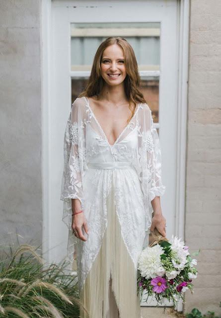 flecos en los vestidos de novia | vestidosdenovia