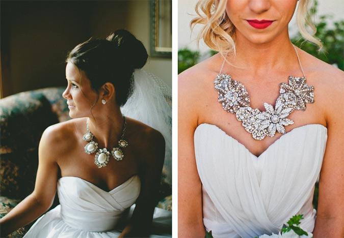 propuestas de collares originales para novia