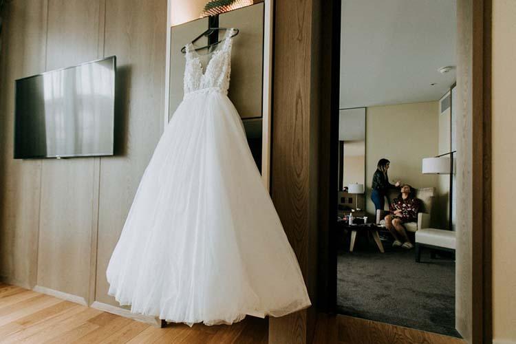 Cuidados vestido novia